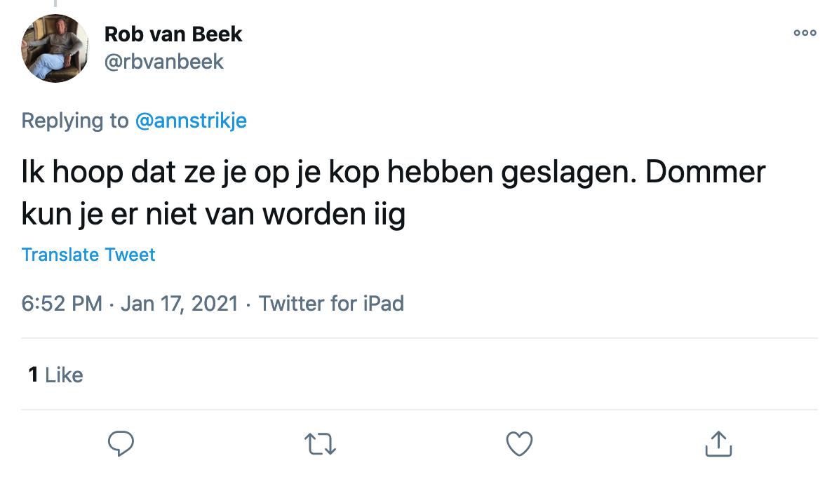 museumplein twitter agressie